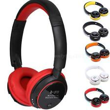 Stereo Bluetooth Headphone Card Headset With FM MP3 For iPhone Samsung HTC OT8G