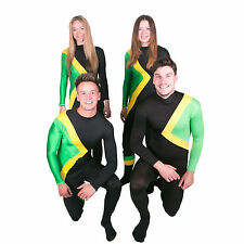 Jamaican Bobsled Cool Fancy Dress Costume / Jamaica Bobsleigh Running Outfit