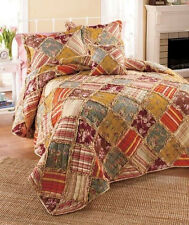 Ragtime Full/Queen or King Quilts With Shams & Accessories