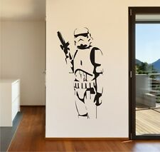 Star Wars Storm Trooper Vinyl Wall Art - Stickers Decals Vinyl Transfers