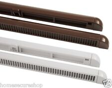 X10 Trickle Slot Vents 300mm or 400mm Night Ventilation. UPVC & Wooden Windows
