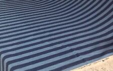 Blue stripes BEDSPREAD available in all sizes - custom made