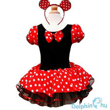 Kids Girls Baby Toddler Minnie Mouse Party Costume Ballet Tutu Dress