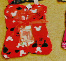 NWT 2PC Womens Soft Fleece Pajama Set  Disney Mickey Mouse Size M XL Three LEFT!