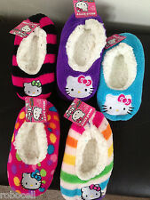 Hello Kitty Fuzzy Slipper _Girls Size S/M or M/L