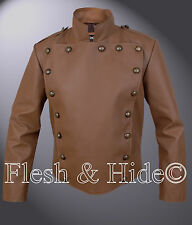 The Rocketeer Jacket in Tan Brown other colors available too please enquire