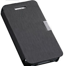 Apple iPhone 4 4S New Synthetic Leather Flip Case Cover pouch
