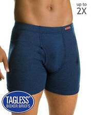 10 PAIRS Hanes Men's TAGLESS Boxer Briefs with ComfortSoft Waistband FREE SHIP!!