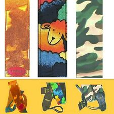 Guitar Strap Fancy Style Furry Gold, Camoflage, Pyscho Baa Baa  UK SUPPLIER NEW