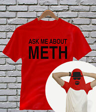 Ask Me About Meth T Shirt Funny Flip Up Tee Ask Me About My T-Rex T-Shirt Top