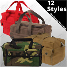 Heavy Weight Mechanics Tool Bag Military Heavy Duty Cotton Canvas Utility Bag