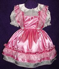 Divine Candy Pink Adult Baby Sissy Dress Aunt D