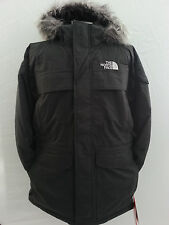 The North Face Mens MCMURDO Parka Down Jacket Black W/Hood 550 Down Fill Size 2X