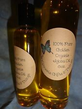 100% Pure  Golden Organic Jojoba Oil ***FREE SHIPPING***From trees grown in USA