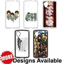 Attack on Titan Manga Anime For LG Google Nexus 5 Hard Plastic Cover Case