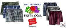 FRUIT OF THE LOOM and/or HANES 6 PAIR BOXER SHORTS  IN FAMOUS BRAND PACKAGING