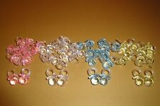 24 MINI PACIFIERS BABY SHOWER FAVOR  ( CHOOSE COLOR COMBINATION)