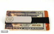 Grand Band XL Stainless Steel Money Clip, Military Logo