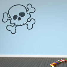 Skull And Cross Bones Wall Stickers Pirate Wall Decal Art
