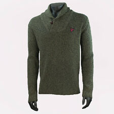 Mens Lyle & Scott RA930H08 Green Jumper SRP £159