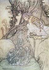 Arthur Rackham BOOK OF PICTURES 1913 Ref 01 PRINT A4 or A5 Size Unframed