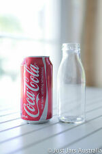 25 glass bottles + 25 paper straws - Weddings, childrens parties, baby showers