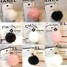 3.5mm Cute Fur Ball Cellphone Anti-Dust Ear Cap Plug For Smart Phone