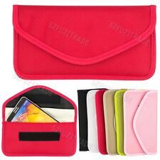 RF Signal Wifi GPS Blocker Jammer Bag Cover Pouch For iPhone 5 5S Galaxy Note 3