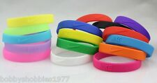 New 3D Nike Bracelet Band Silicone Rubber Sports Baller Wristband FAST USA SHIP!