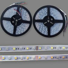 New 5/10/20M IP67 Waterproof SMD 5050 RGBW (RGB+White) LED Flexible Strip Light