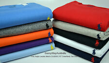NWT Genuine Mens Polo Ralph Lauren Classic Fit CREW NECK TShirt Small Pony Men's