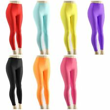Solid Color Leggings soft Warm Basic Tights Shiny Thick Stretch Stocking Pants