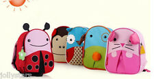 Toddler Childs Zoo Animal Safety Harness Rucksack Backpack Reins Lunch Bag 3in1