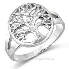 925 Sterling Silver Open TREE OF LIFE Ring Size 5 6 7 8 9 10 11