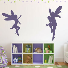 Fairy Pair Wall Sticker Fairy Wall Decal Art