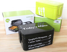 3 Layers Lunch Box Bento Big Capacity w/ Fork & Spoon Portable Microwave OK