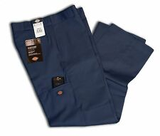 Dickies Men Style 85283 Double Knee Pants Navy Cell Phone Pocket All Sizes