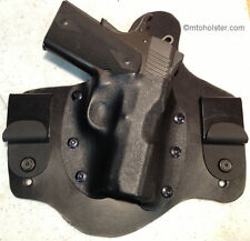 "KIMBER IWB MTO holster  leather kydex Solo and 1911s  with 3"" barrels"