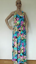 Neon paisely Twisted Back Maxi Dress
