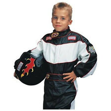 CHILD SIZE KID'S LITTLE RACER RACE CAR DRIVER COSTUME OUTFIT WITH SUIT