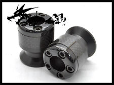 02 Carbon Swing Arm Spool Swingarm Sliders For Kawasaki Ninja250R 2008-2013 09