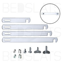 Divan Bed Linking / Connecting Bars Kit - Nickeled Plated / Chrome - 4 Sizes