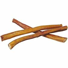 "12"" Straight Bully Sticks - Natural Bulk Dog Treats & Healthy Beef Chews 12 inch"