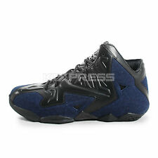 Nike Lebron XI EXT Denim QS [659509-004] Basketball Black/Navy
