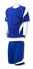 Velocity soccer uniform kit: matching soccer jersey and shorts, several colors