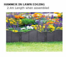 Garden Fence Kerb Lawn Edging Boarder Edge Fencing Green Color  Plastic