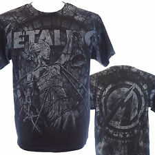 METALLICA - STONE JUSTICE - Official T-Shirt - Heavy Metal - New S M L XL