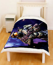 Halo Mister Chief Fleece Blanket / Fleece Throw Medium & LARGE 002