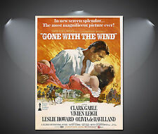 Gone With The Wind Vintage Movie Poster - A1, A2, A3, A4 available