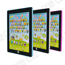 CHILDRENS LAPTOP EDUCATIONAL TOY GAME MY FIRST TABLET KIDS LEARNING COMPUTER TOY